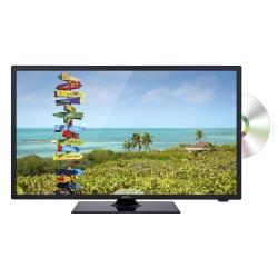 TÉLÉVISEUR 24'' DVD HD DVBT-C/T2/S2