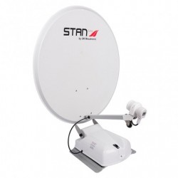 ANTENNE SATELLITE 55 CM BISAT LNB SINGLE